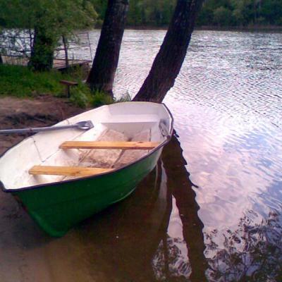 Лодка «Пелла» из стеклопластика