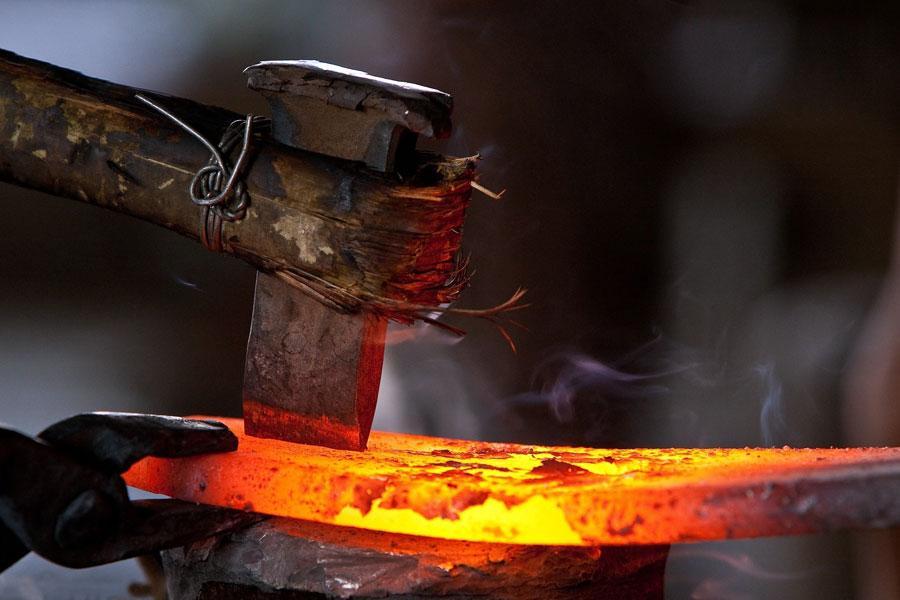 Ковка металла вручную
